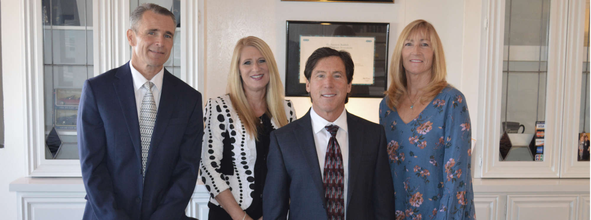 Ron Anfuso CPA and staff